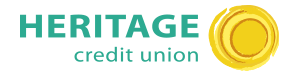 Heritage Credit Union Homepage